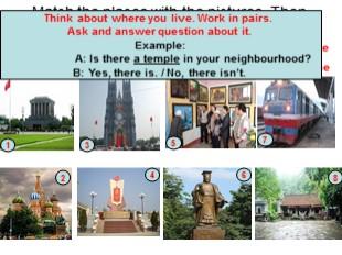 Bài giảng Tiếng Anh Lớp 6 - Unit 4: My neighbourhood - Getting started