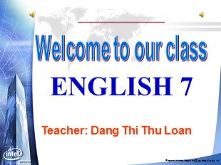 Bài giảng Tiếng Anh Lớp 7 - Unit 3: Community service - Lesson 5: Skills 1 - Đặng Thị Thu Loan