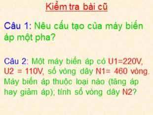 Bài giảng Công nghệ Lớp 8 - Bài 48: Sử dụng hợp lý điện năng