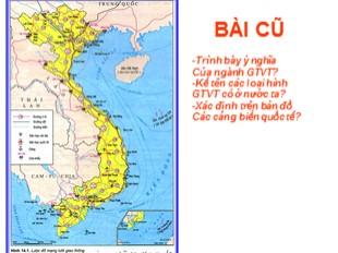 Bài giảng Địa lý Lớp 9 - Bài 15: Thương mại và du lịch
