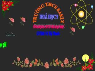 Bài giảng Hóa học Lớp 9 - Tiết 51: Luyện tập Chương 4: Hiđrocacbon. Nhiên liệu - Võ Thị Phước