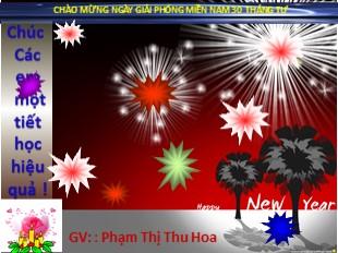 Bài giảng Lịch sử Lớp 9 - Bài 28: Xây dựng chủ nghĩa xã hội ở miền Bắc, đấu tranh chống đế quốc Mĩ và chính quyền Sài Gòn ở miền Nam (Tiếp theo) - Phạm Thị Thu Hoa