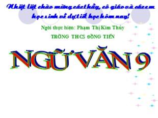 Bài giảng Ngữ văn Lớp 9 - Tiết 147: Văn bản Rô-bin-xơn ngoài đảo hoang - Phạm Thị Kim Thúy