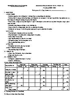 Bộ đề kiểm tra giữa học kì I môn Tin học Lớp 6 - Năm học 2020-2021 - Trường THCS Việt Hưng (Có đáp án)